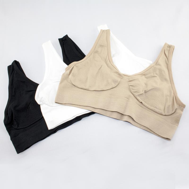 Бюстгальтер Ах Бра Ahh bra  - aire bra ( В комплекте 3 штуки ), размер L