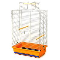 """Клетка для птиц, попугая """"Нимфа"""" цинк 48*31*66 см"""