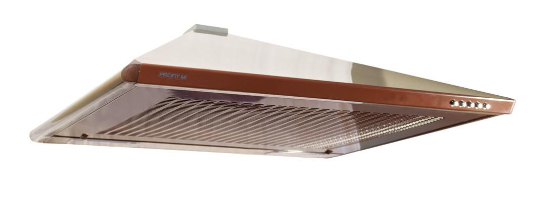 Витяжка (ProfitM)НЕ стандарт 70х80 (420)  коричневий