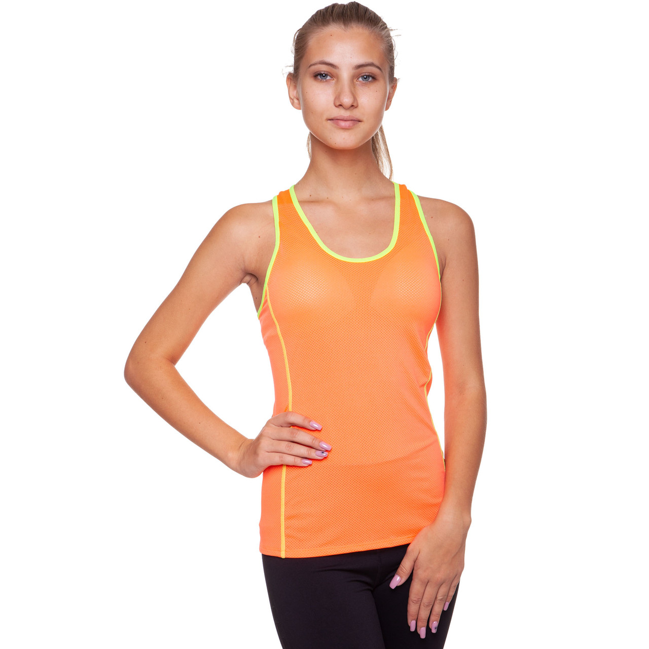 Майка для фитнеса и йоги Domino CO-39020 размер M-42-48 цвета в ассортименте