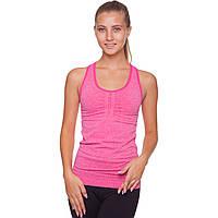 Майка для фитнеса и йоги Domino CO-J1525-5 размер M-L-40-48 малиновый