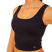 Майка для фитнеса и йоги VSX WX5007-BK размер S-L-40-70кг черный