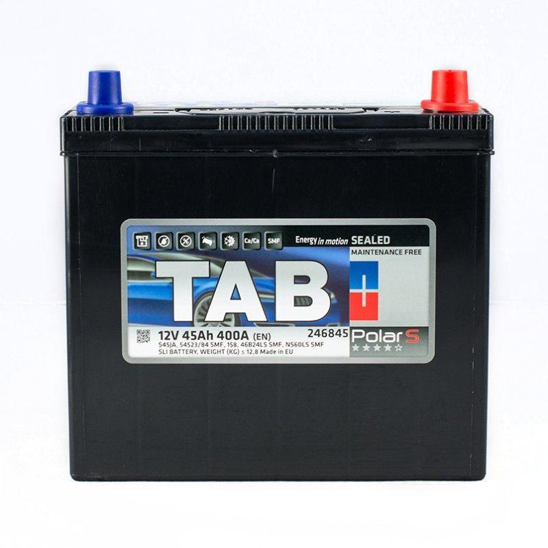 TAB POLAR 6СТ-45 АзЕ Автомобильный аккумулятор