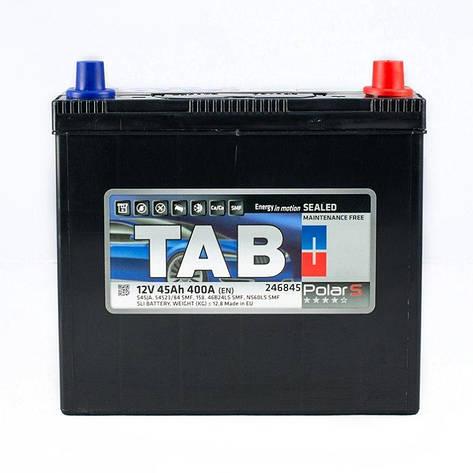 TAB POLAR 6СТ-45 АзЕ Автомобильный аккумулятор, фото 2