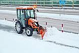 Снегоочиститель,отвал для трактора CITY SaMASZ, фото 3