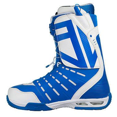 Черевики для сноуборду Nitro Team TLS 31 Blue-White, фото 3