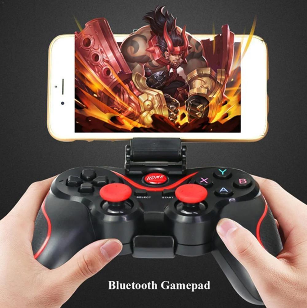 Игровой джойстик Bluetooth для смартфона, планшета, компьютера Gen Game Х3, встроенный аккумулятор