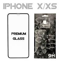 "Захисне скло iPhone X/XS 5D Premium ""King Fire Tech"""