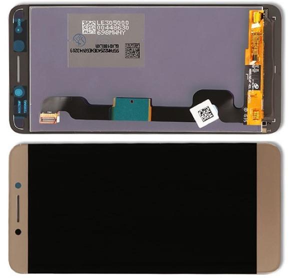 Дисплей модуль для LeEco Le Pro 3 AI X650 X651 в зборі з тачскріном, чорний Золотистый
