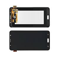 Дисплей модуль Samsung J710F/DS Galaxy J7 (2016) TFT copy в зборі з тачскріном, чорний