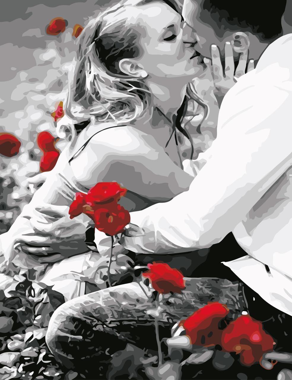 Художественный творческий набор, картина по номерам Искренний поцелуй, 50x65 см, «Art Story» (AS0616)
