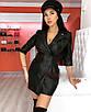 Кожаное мини платье пиджак короткое кемел коричневое рыжее черное с поясом, фото 4