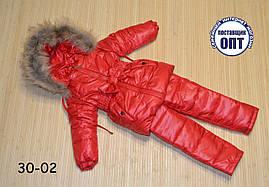 Зимовий термо комплект - костюм для дівчинки розмір 104