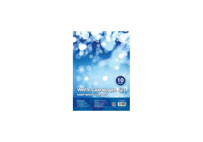 Набор белого картона А4  Cool for school 10 листов 235 г/м2