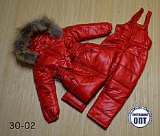 Зимний термо комплект - костюм для девочки 110 размер