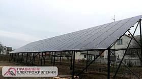 Мережева СЕС 60 кВт у с. Поториця (Дві по 30 кВт) 1