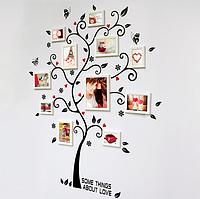 """Наклейка на стену, виниловые наклейки, украшения стены наклейки  """"дерево воспоминаний"""" 100*120см (лист45*60см)"""