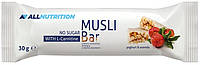 Злаковый батончик AllNutrition - Muesli Bar L-Carnitine (30 грамм) смородина