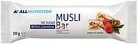 Злаковый батончик AllNutrition - Muesli Bar L-Carnitine (30 грамм) йогурт-ацерола