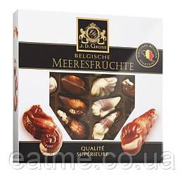 J.D.Gross Шоколадные ракушки с пралине начинкой
