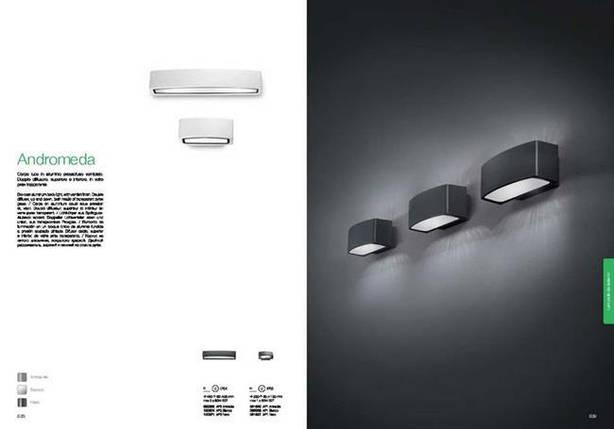 Уличный светильник Ideal Lux ANDROMEDA AP2 BIANCO 100364, фото 2