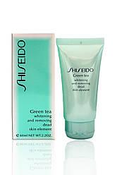 """Пилинг для лица Shiseido """"Green Tea"""" 60 мл."""