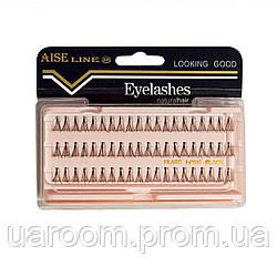 Пучковые накладные ресницы Aise Line EL1501