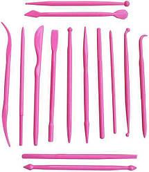 Набор инструментов Empire 14 стеков для декора мастики и марципана EM-8629psg, КОД: 175783