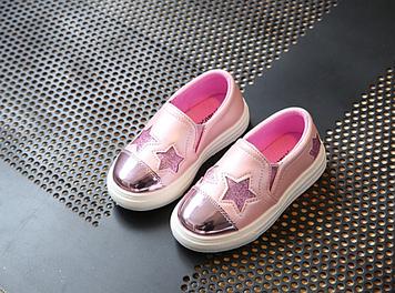 Дитячі мокасини Рожеві дитячі мокасини Дитячі мокасини для дівчаток Дитячі туфлі дівчинка