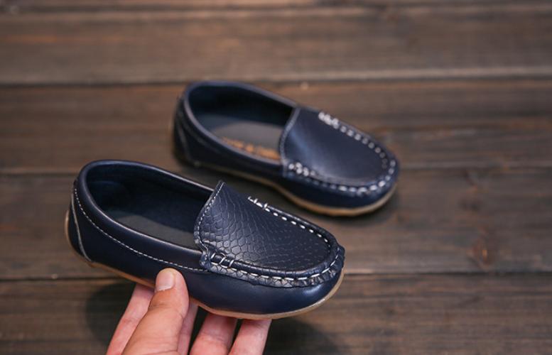 Детские мокасины Черные детские мокасины Детские туфли мальчик Черные детские туфли