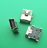Разъем заряда для китайских телефонов (5pin) miniUSB на плату (для планшетов, GPS) 2