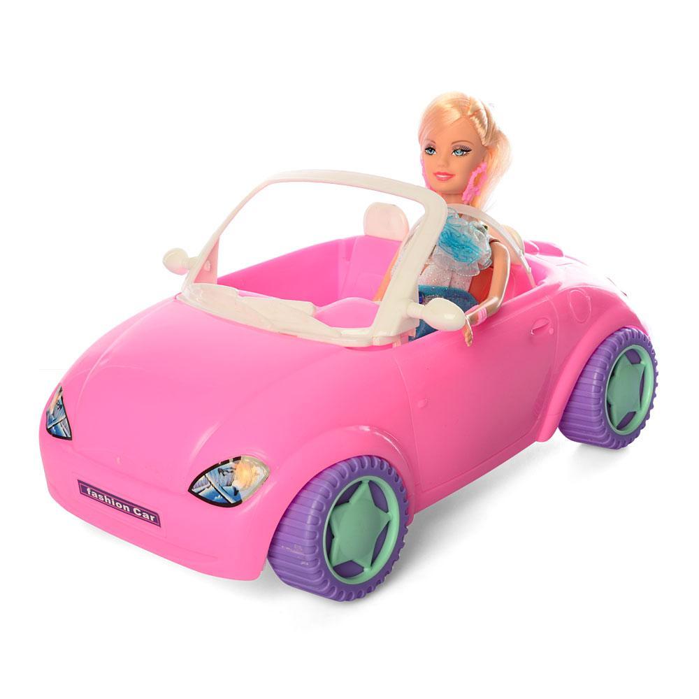 Кукла Bettina 68090 в розовом кабриолете