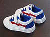 Белые детские кроссовки Детские кроссовки Детские кроссовки на липучке, фото 2
