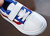 Белые детские кроссовки Детские кроссовки Детские кроссовки на липучке, фото 3