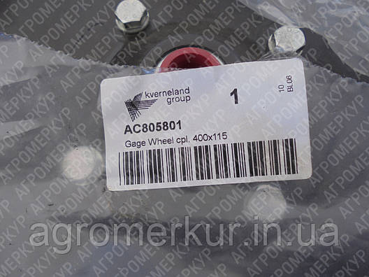 Колесо прикочуюче AC805801 Kverneland 400x115 OTICO FARMFLEX®, фото 2