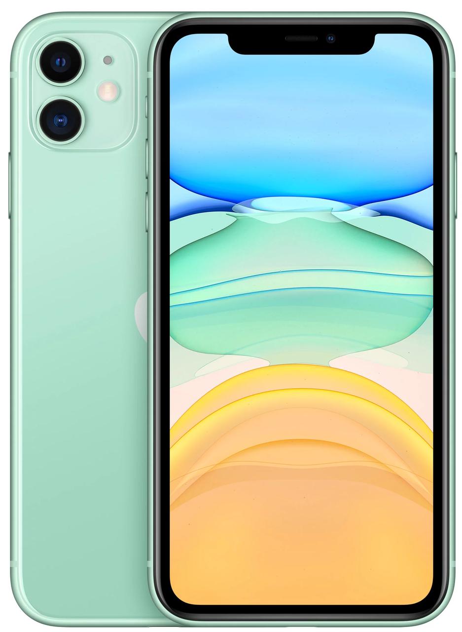 Смартфон Apple iPhone 11 128Gb Dual Green (MWM62)