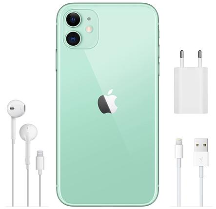 Смартфон Apple iPhone 11 128Gb Dual Green (MWM62), фото 2