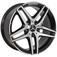 Литые диски Replica Mercedes (BK967) R18 W8.5 PCD5x112 ET45 DIA66.6 (BP)
