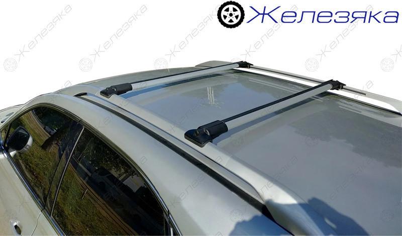 """Багажник на крышу """"РЕЙЛИНГ СТЕЛС"""" (Р6-100-105 см) на рейлинги"""