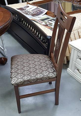 Стул кухонный Юля  (твёрдая спинка) Микс мебель, цвет темный орех, фото 2