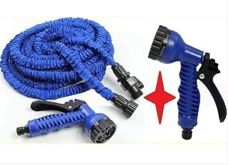 Поливочный шланг 15 метров X-hose, садовый шланг растягивающийся, фото 2