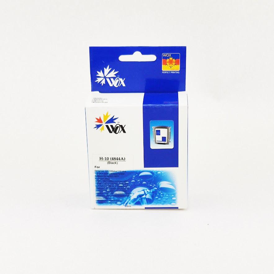 Картридж WOX HP 10 C4844AE Black для DeskJet 2000cn/Business inkJet 2200/CP1700