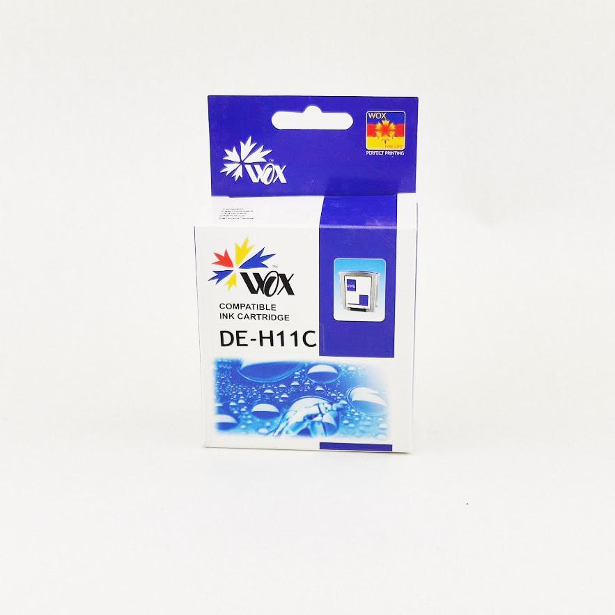 Картридж WOX HP 11 C4836AE Cyan для DeskJet 2000cn/Business inkJet 2200/CP1700