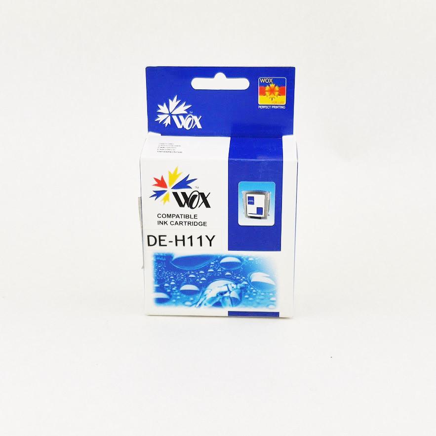 Картридж WOX HP 11 C4838AE Yellow для DeskJet 2000cn/Business inkJet 2200/CP1700