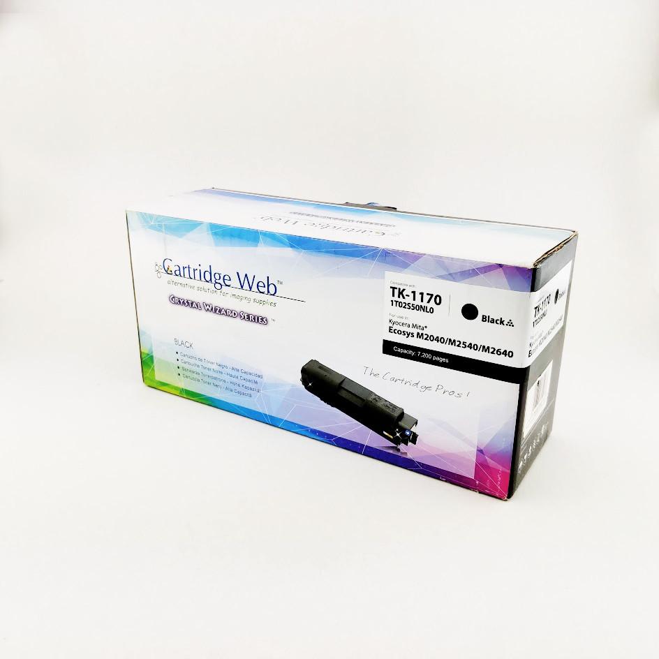 Картридж Cartridge WEB Kyocera TK-1170 Black для M2040dn/M2540dn/M2640idw