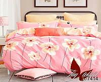 Семейный комплект постельного белья R7414