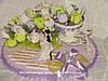 Конфетные подарки на свадьбу и свадебный юбилей.
