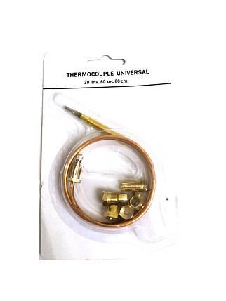 Термопара универсальная (universal) для газа 60см-30mv-60sec, фото 2