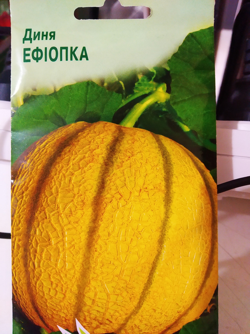 Диня Ефіопка середньорання насіння 2 грама, Україна