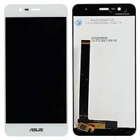 Экран (дисплей,lcd) Asus Pegasus 3 X008 Dual Sim с тачскрином (сенсором,touchscreen) белый